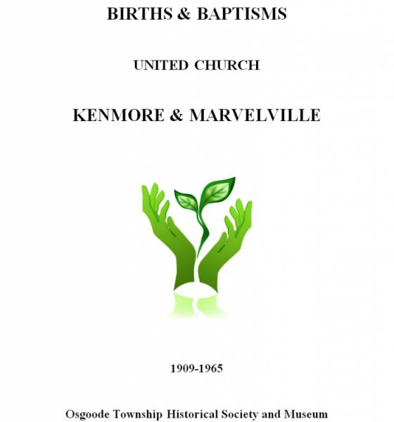 United Church Births - Kenmore & Marvelville