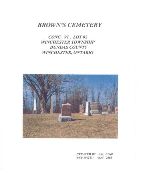 Brown's Cemetery