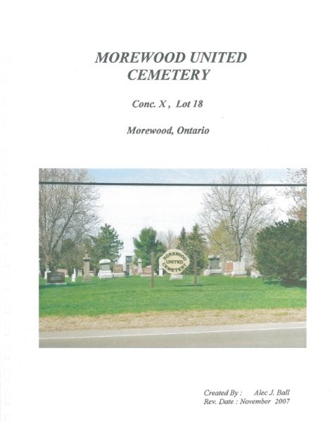 Morewood United Cemetery