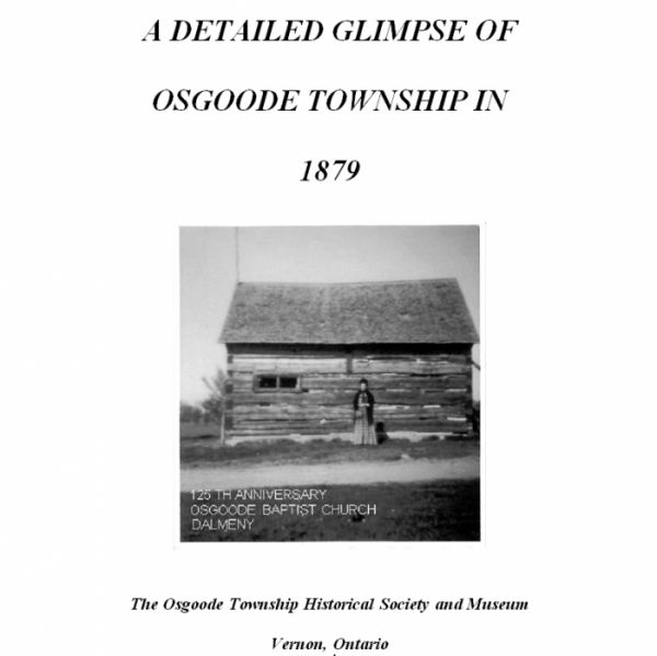 A Detailed Glimpse of Osgoode Township in 1879