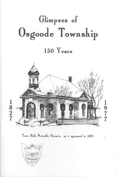 Glimpses of Osgoode Township