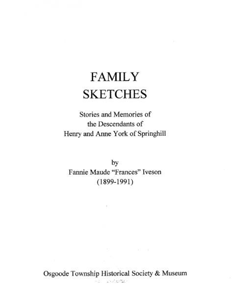 The York Families - Volume 1