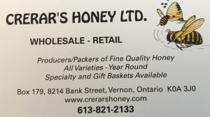 Crerar's Honey